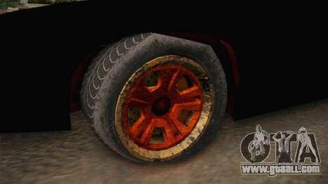 GTA 5 Imponte Ruiner 3 Wreck for GTA San Andreas back view
