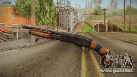 Survarium - Remington 870 for GTA San Andreas second screenshot
