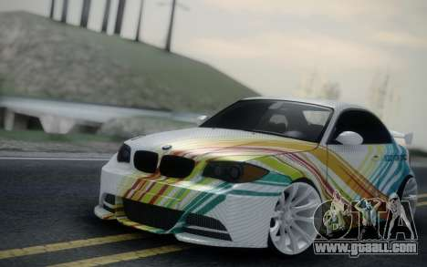 BMW 135i E82 Coupe for GTA San Andreas right view