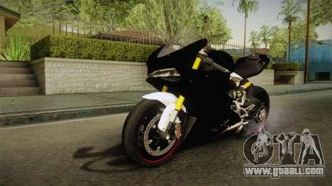 Ducati 1299 Panigale S 2016 Tricolor Black for GTA San Andreas