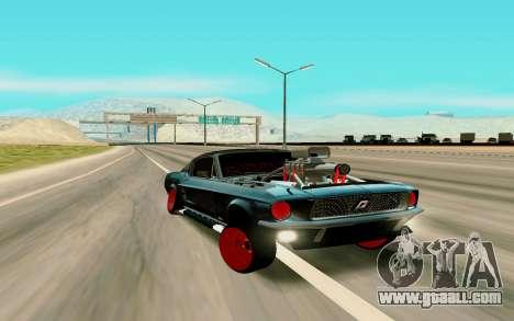 Ford Mustang for GTA San Andreas