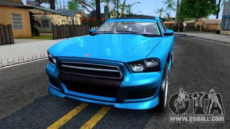 Buffalo GTA V IVF for GTA San Andreas