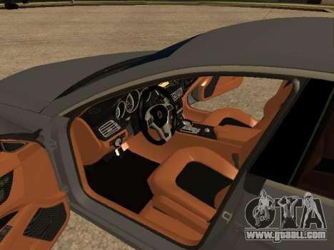 Mercedes-Benz CLS 63 AMG Armenian for GTA San Andreas inner view