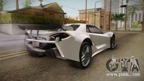 GTA 5 Progen Itali GTB Custom IVF for GTA San Andreas right view