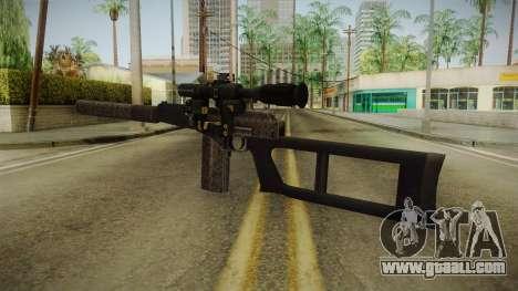 Survarium - VSK-94 Camo for GTA San Andreas second screenshot