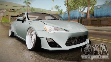 Scion FR-S RocketBunny 2013 for GTA San Andreas