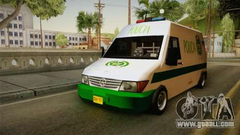 Mercedes-Benz Sprinter SA Style for GTA San Andreas right view