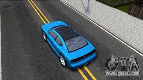 Buffalo GTA V IVF for GTA San Andreas back view