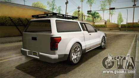GTA 5 Vapid Contender 4 (5) for GTA San Andreas