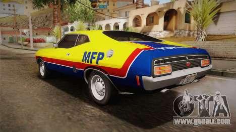 Ford Falcon 351 GT AU-spec (XB) 1973 HQLM for GTA San Andreas interior