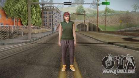 GTA Online DLC Import-Export Female Skin 3 for GTA San Andreas