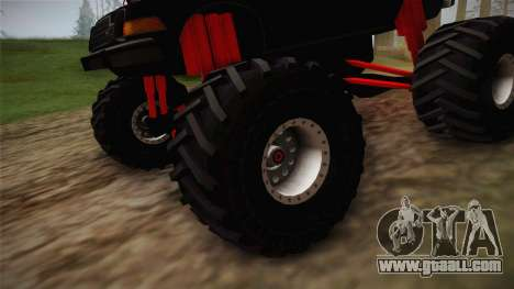 AMC Pacer Monster Truck for GTA San Andreas back view