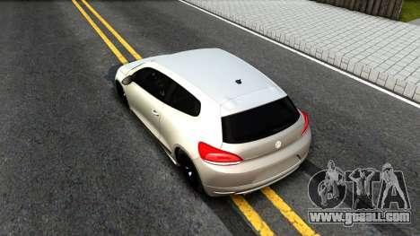 Volkswagen Scirocco for GTA San Andreas back view