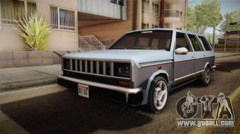 Bobcat Station Wagon v3 for GTA San Andreas