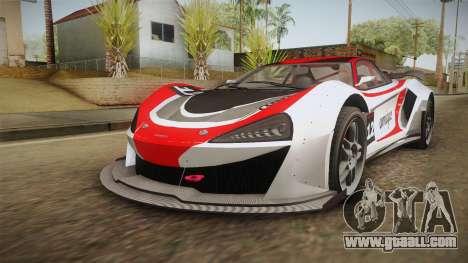 GTA 5 Progen Itali GTB Custom IVF for GTA San Andreas wheels