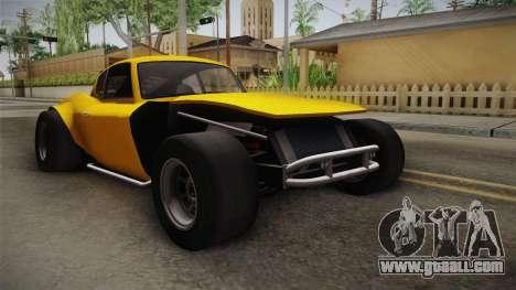 GTA 5 Invetero Coquette Custom for GTA San Andreas right view