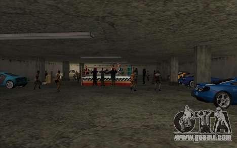 Illegal Boxing tournament V2.0 for GTA San Andreas seventh screenshot