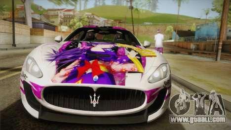 Maserati GranTurismo 2014 GOODSMILE Racing for GTA San Andreas right view