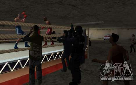 Illegal Boxing tournament V2.0 for GTA San Andreas