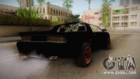 GTA 5 Imponte Ruiner 3 Wreck for GTA San Andreas left view