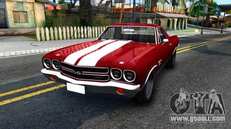 Chevrolet El Camino SS for GTA San Andreas