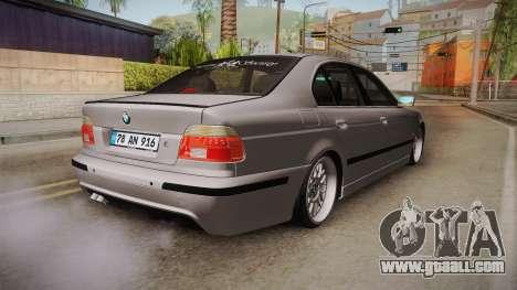 BMW 530i E39 for GTA San Andreas left view
