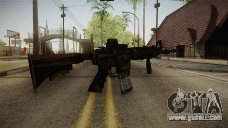 Tactical M4 for GTA San Andreas third screenshot