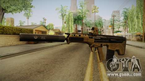 DesertTech Weapon 2 Silenced for GTA San Andreas