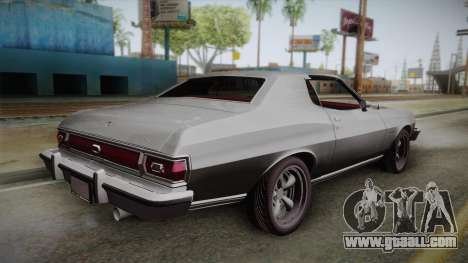 Ford Gran Torino 1975 for GTA San Andreas left view
