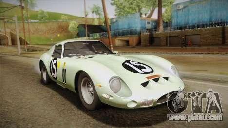 Ferrari 250 GTO (Series I) 1962 HQLM PJ1 for GTA San Andreas side view