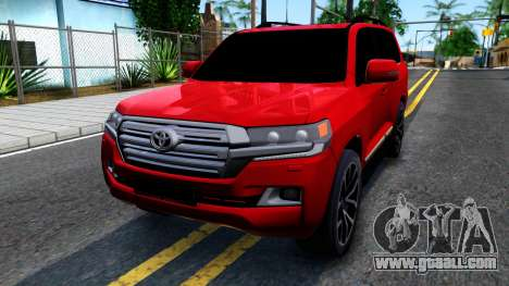 Toyota Land Cruiser 2016 for GTA San Andreas