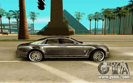 Rolls-Royce Ghost for GTA San Andreas left view