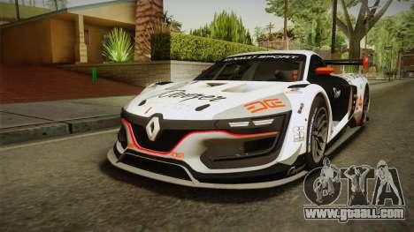Renault Sport R.S.01 PJ3 for GTA San Andreas inner view