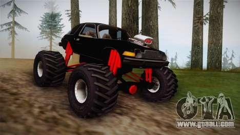 AMC Pacer Monster Truck for GTA San Andreas