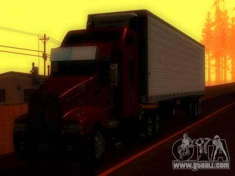 Trailer Utility for GTA San Andreas back left view