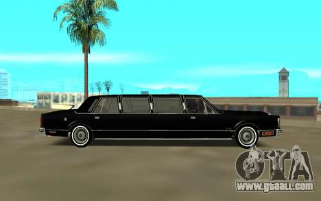 Lincoln 1988 for GTA San Andreas left view