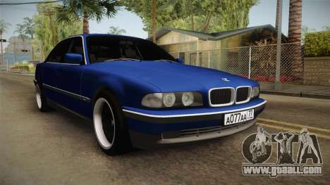 BMW 730d E38 for GTA San Andreas right view