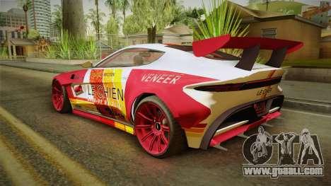 GTA 5 Dewbauchee Specter Custom for GTA San Andreas engine
