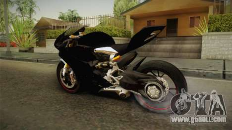 Ducati 1299 Panigale S 2016 Tricolor Black for GTA San Andreas right view