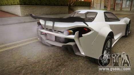 GTA 5 Progen Itali GTB Custom IVF for GTA San Andreas inner view