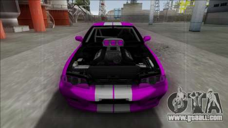 Nissan Skyline R32 Drag for GTA San Andreas right view