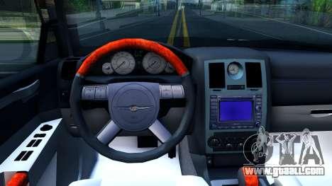 Chrysler 300C Limo 2007 IVF for GTA San Andreas inner view