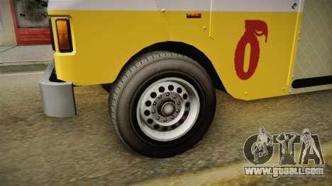 GTA 5 Brute Taco Van for GTA San Andreas back view