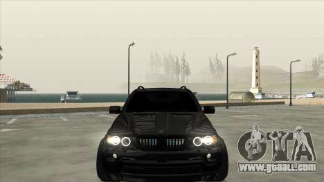 BMW X5 HAMANN for GTA San Andreas right view