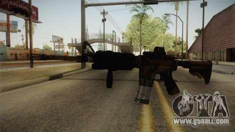 Tactical M4 for GTA San Andreas second screenshot