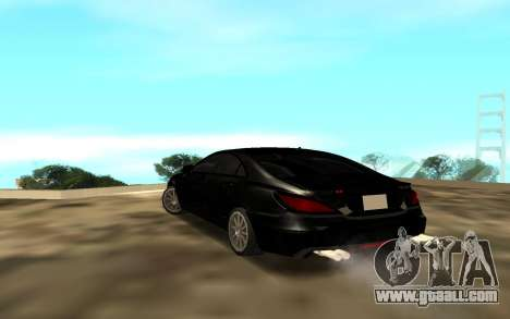 Mercedes C 63 for GTA San Andreas back left view