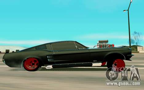 Ford Mustang for GTA San Andreas left view