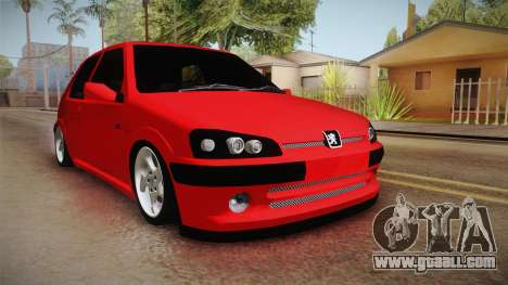 Peugeot 106 GTI for GTA San Andreas