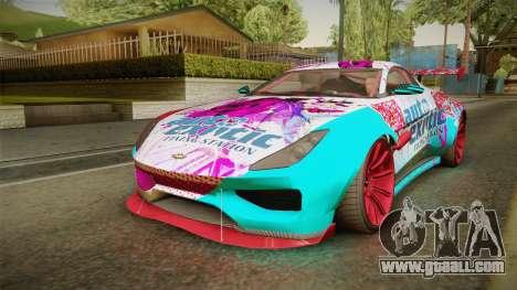 GTA 5 Dewbauchee Specter Custom for GTA San Andreas wheels