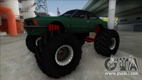1984 BMW M6 E24 Monster Truck for GTA San Andreas